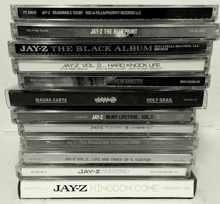 The official ranking of jay zs albums mic life magazine jay z cds malvernweather Choice Image